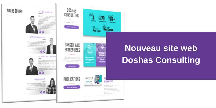 Le site web de Doshas Consulting se renouvelle !