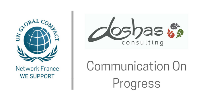 Communication On Progress de Doshas Consulting