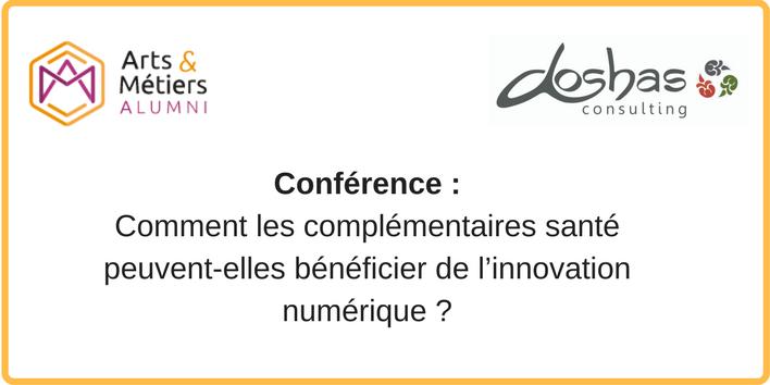 [Conférence] Complémentaires santé et start-up : l'indispensable connexion