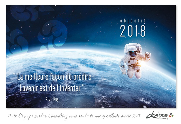 Doshas Consulting vous souhaite une excellente année 2018
